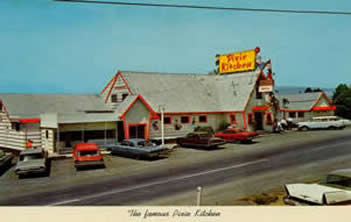 The Pixie Kitchen restaurant as it appeared in the mid-1960s