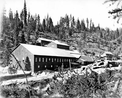 The North Pole Mine near Bourne, one of several successful Bourne mines -- although by the time White arrived, its best years were behind it