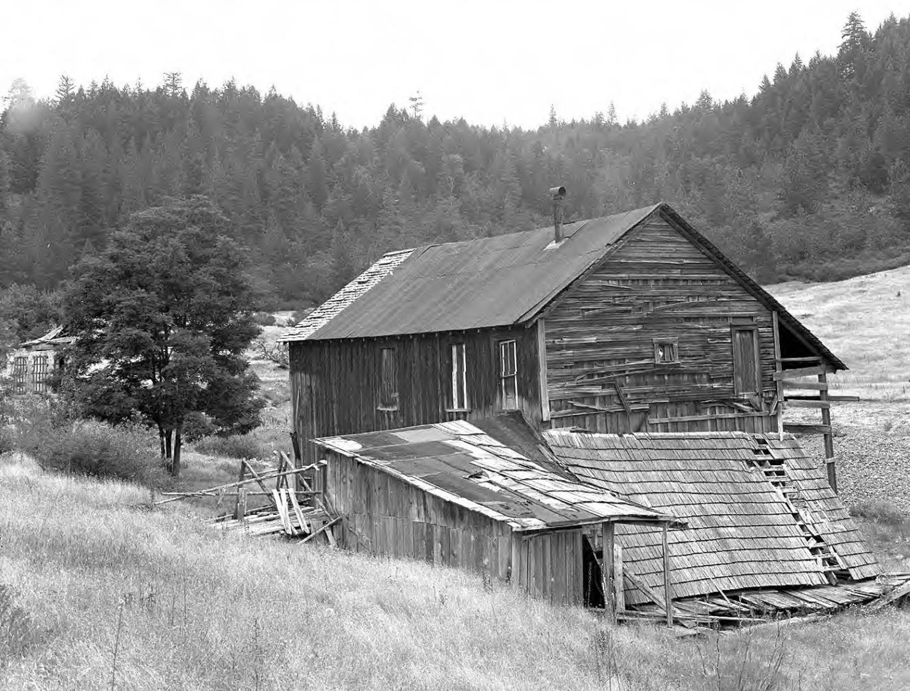 the ghost town of Waldo.waldo town