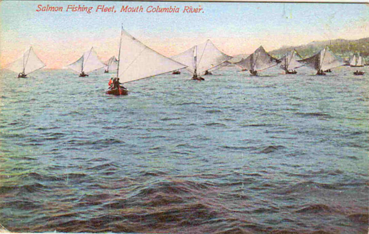 In 1880s salmon were the real most dangerous catch for Salmon fishing columbia river